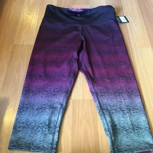 NWT Champion High Rise Reversible Leggings XL